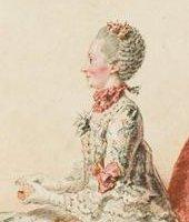 Portrait de Gabrielle-Suzanne de Villeneuve