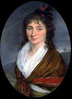 Portrait de Charlotte de Robespierre