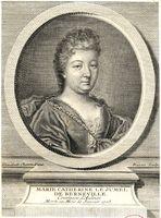Portrait de Marie-Catherine d'Aulnoy