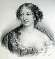 Portrait de Antoinette Des Houlières