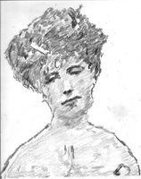 Portrait de Elizabeth Von Arnim