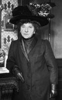 Portrait de Hubertine Auclert
