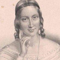 Portrait de Ida von Hahn-Hahn