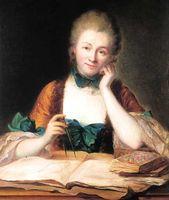Portrait de Emilie du Châtelet