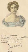 Portrait de Jane de la Vaudère