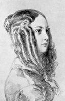 Portrait de Louise Colet