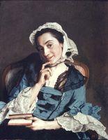 Portrait de Louise d'Épinay