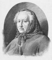 Portrait de Louise-Victorine Ackermann