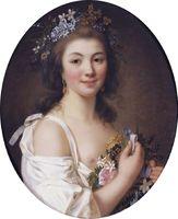 Portrait de Félicité de Genlis