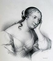 Portrait de Madame de La Fayette