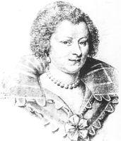 Portrait de Madeleine de Souvré, marquise de Sablé