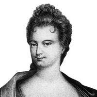 Portrait de Claudine Guérin de Tencin