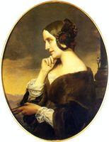 Portrait de Marie d'Agoult